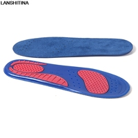 Military Training Sports Damping Insoles For Men Women Velvet Sweat Absorbent Breathable Deodorant Shoe Pad Soft Silicone Insole