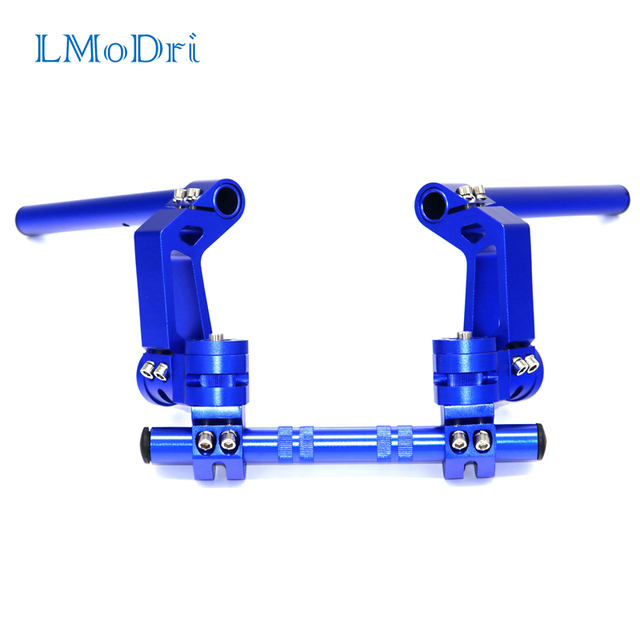 "LMoDri Motorcycle CNC Adjustable Steering Handlebar 7/8"" Removable Handle Bar System 125cc Pit Bike Dirt Bike Motocross Scooter"