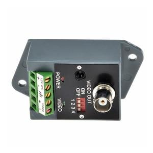 Image 4 - 2 stks (1 paar) lange afstand 1 channel Actieve Video Balun Video Transceiver voor CCTV AHD CVI TVI CVBS Single Channel Zender
