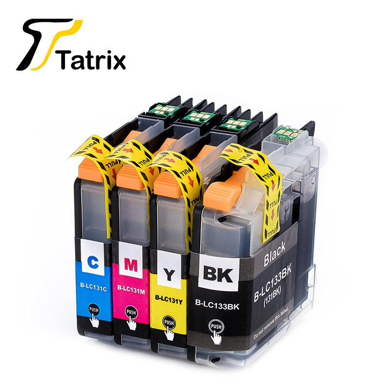 LC131 Ink Cartridge Compatible For Brother Printer DCPJ152W J172W J552DW J752DW MFC J245 J470DW J475DW J650DW