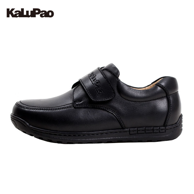 Kalupao 2018 New Design Kids Genuine Leather Boys Dress Shoes For