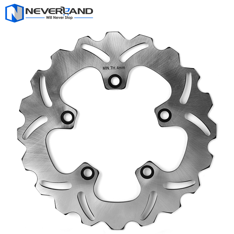 Motorcycle Rear Brake Disc Rotor For Yamaha FZ1 FAZER 1000 2006-2012 1000ABS 2007-2012 aftermarket free shipping motorcycle parts eliminator tidy tail for 2006 2007 2008 fz6 fazer 2007 2008b lack