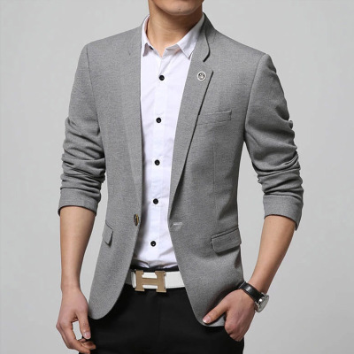 Free shipping ! New 2015 fashion men's casual suit