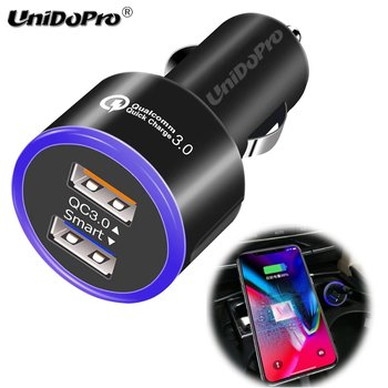 Quick Charge 3.0 2-Port Smart USB Fast Car Charger for iPhone 12 11 X XR XS Max 8 Plus , Huawei Mate 30 20 20X P30 Lite P40 Pro