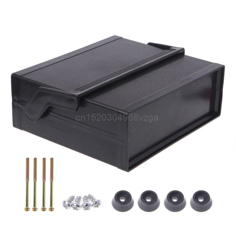 Étanche En Plastique Boîtier Électronique Boîte de Projet Noir 200x175x70mm D21 DropShipping