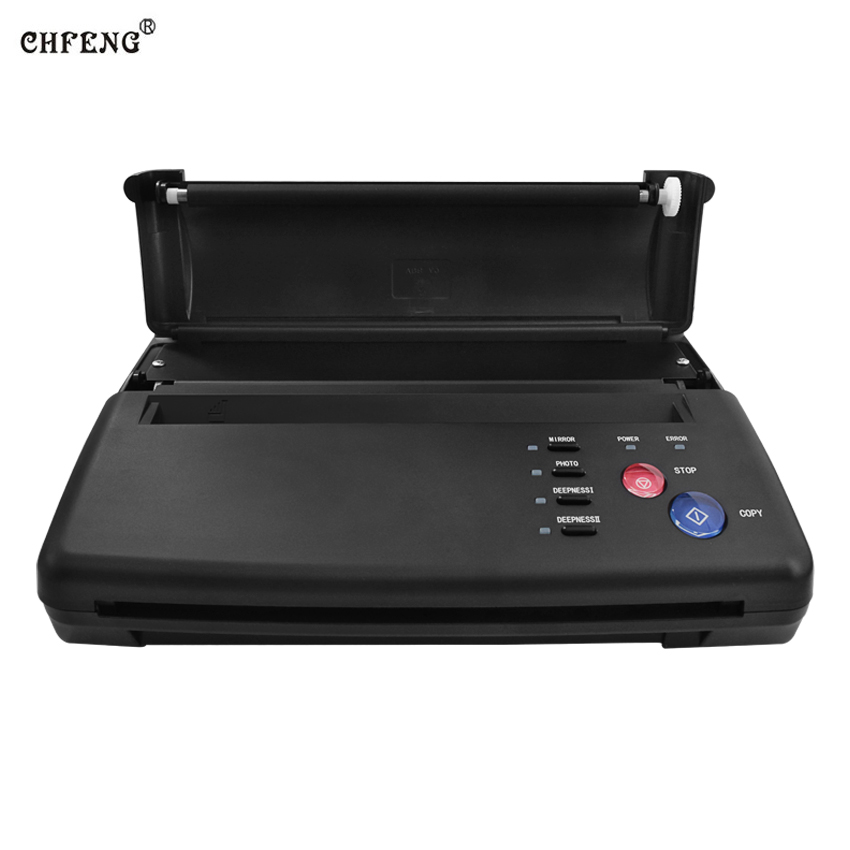 Tattoo Transfer Machine Thermal Stencil Copier Flash Printer Drawing LED Digital Tattoo Supply Body Art and