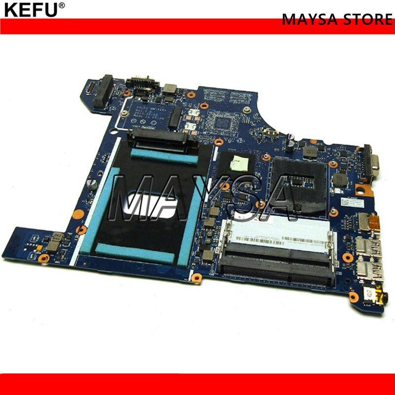 купить Laptop motherboard fit for Lenovo E540 notebook pc main board AILE2 NM-A161 FRU:04X4781 HM87 PGA947 DDR3 Support I7 CPU по цене 5371.8 рублей