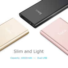 B16 10000mAh Power Bank portable slim and light charger LED indication for iPhone/SAMSUNG, for all USB devices for daily use