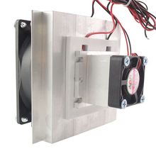 12V Thermoelectric Peltier Cooler Refrigeration Semiconductor Cooling System Kit Fan Finished Computer Components