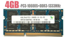 Laptop Notebook 8 Gb 1 Gb 2 Gb 4 Gb DDR2 DDR3 PC2 PC3 667 800 Mhz 1333 1600 Mhz 5300S 6400S 10600S 12800S Ram Geheugen Sk Hynix Chipset
