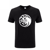 A Song Of Ice And Fire Game Of Thrones Targaryen Dragon Fire Blood T Shirt For