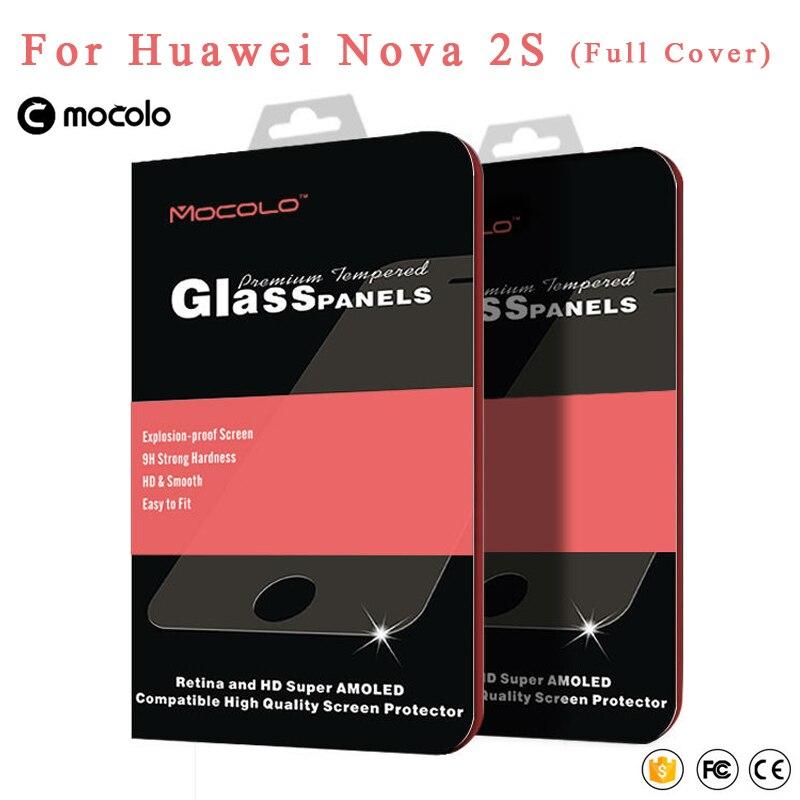 Mocolo 2.5D Full Cover Glass Huawei nova 2s Tempered Glass Screen Protector Film For Huawei Nova 2 S Glass Screen Film 6.0