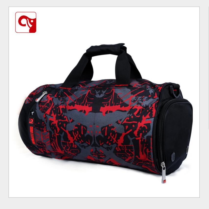 Kualiti 33L beg Sukan yang dibuat dengan 600D polyster beg untuk bola keranjang untuk bola sepak untuk gym kecergasan dan yoga boleh membungkus banyak barangan