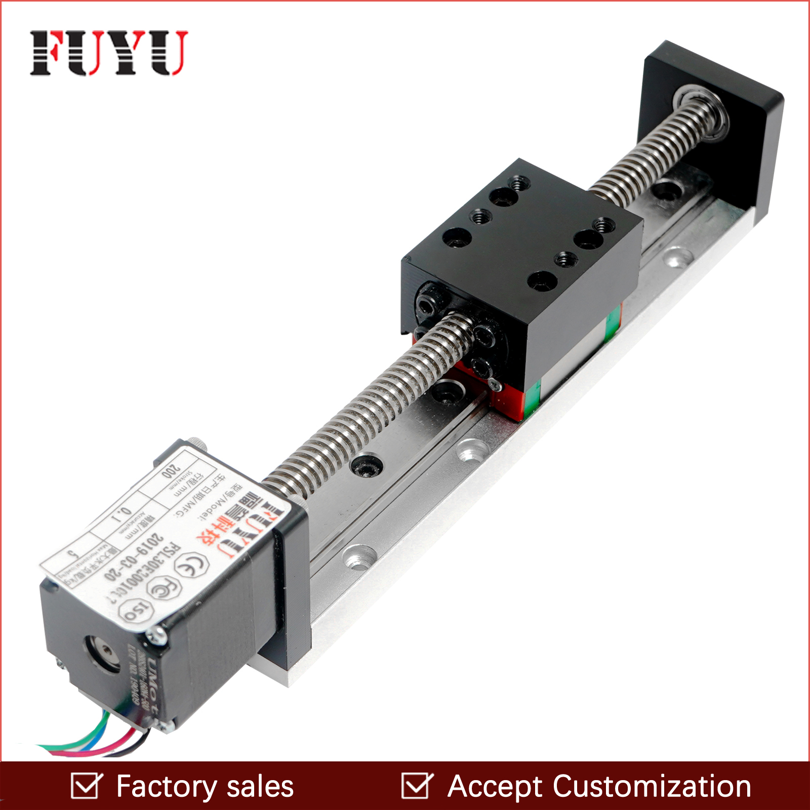 Mini Linear Guide Slide Rail CNC Small Stage Actuator Screw Lead Motion Table System Nema 11