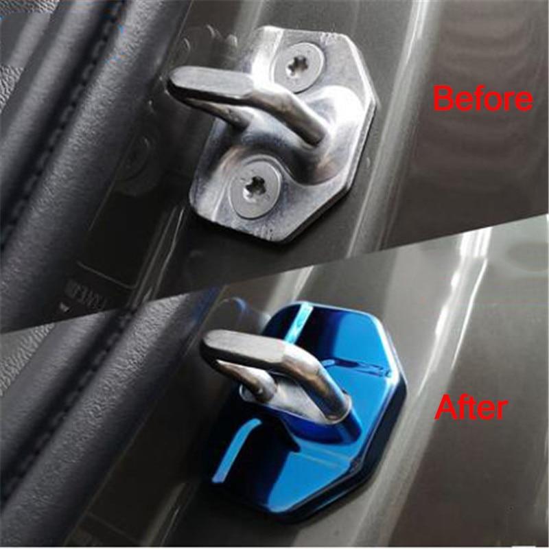 Car Door Lock Cover For Haval H2 H2S H4 H6 H7 H8 H9/WEY VV5 VV7/for Borgward BX5 BX6 BX7/For LYNK&CO 01 02 For Volvo XC60 XC90