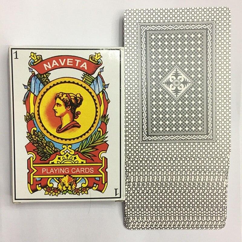 10.27cm X 9.2cm Big Size Fun Spanish UNO Card Playing