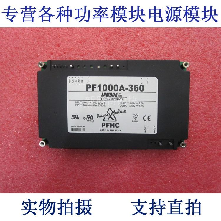 PF1000A-360 LAMBDA 100 / 240VAC-360VDC-1000W AC / DC power supply module