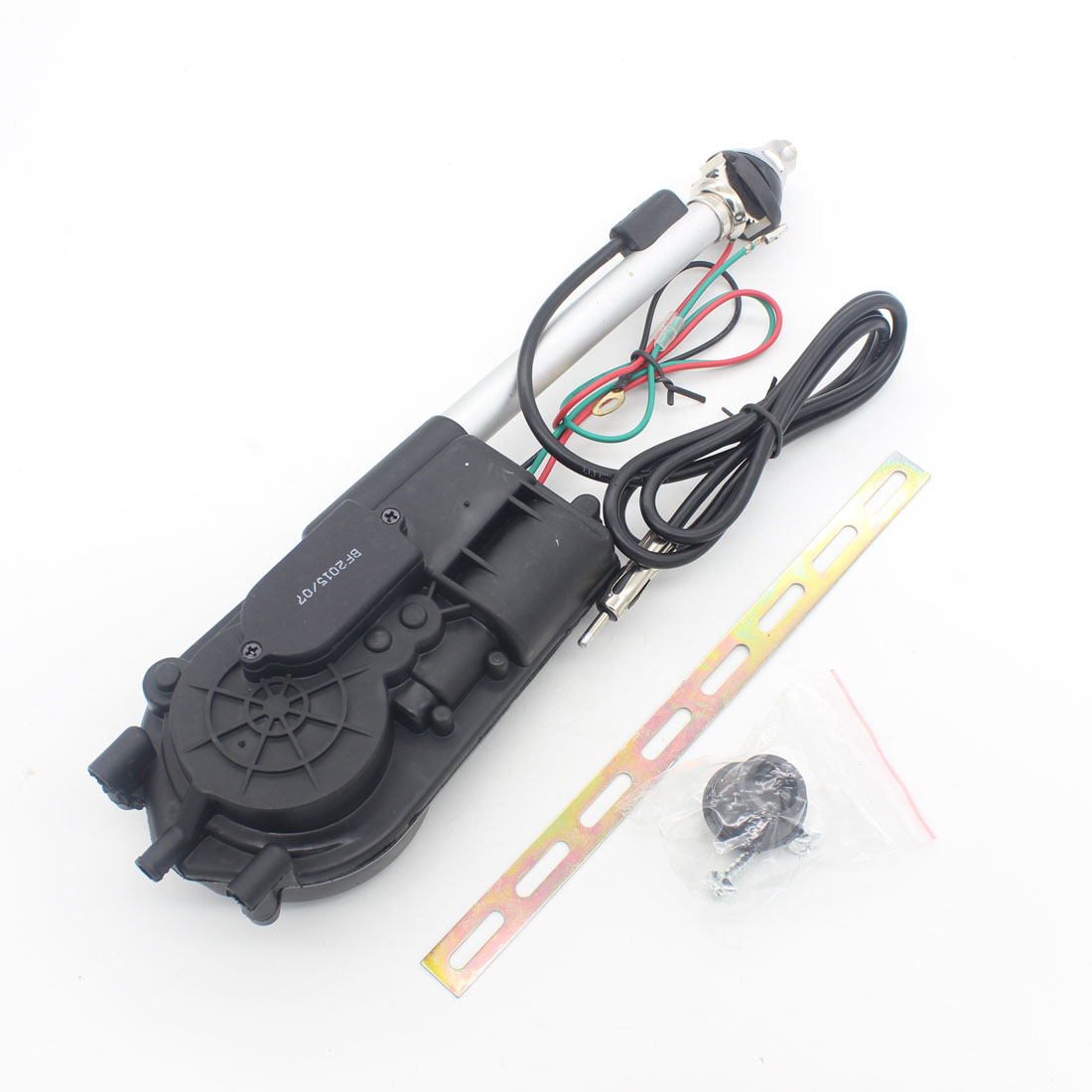 1X Universal Auto Car Aerial Antena Electric Radio Antenna Automatic Booster SUV Electric Power 12V FM/AM Retractable Antenna hot sale 3 5mm fm radio antenna retractable aerial for auto car mobile phone noyokere
