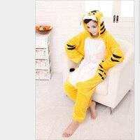 Preferential Women S Animal Tiger Pattern Cosplay Costumes Full Sleeve Polyester Sleep Lounge Onesies Animal Pajamas