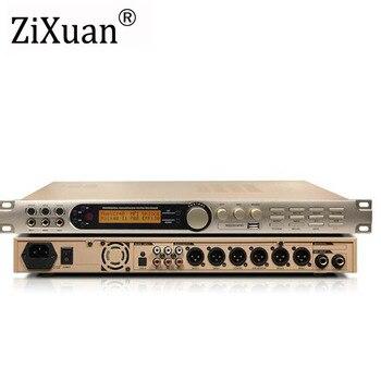 Professional Sound processor KX-200 KTV Digital Effects Processor System equalization effect improved processing control version 1