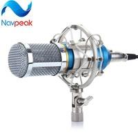 1pc BM 800 Cardioid Professional Condenser Sound Studio Recording Microphone and Shock Mount Holder