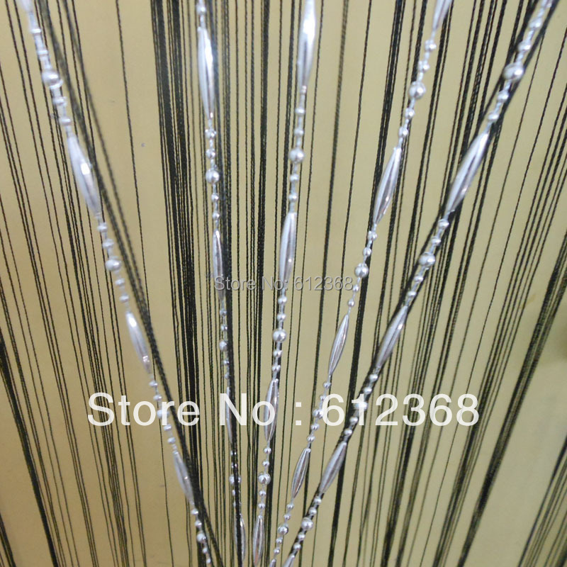 Colors New Dew Drop Beaded Fly Insect Panel Room Divider Hanging String Door Curtain Strip