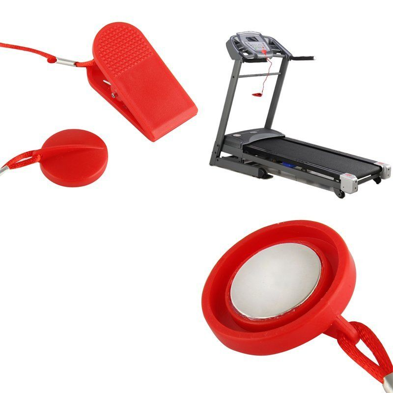 цена Nosii Treadmill Magnetic Safety Switch Lock Security Fitness Running Machine Helping Universal Safe Key Fitness Lock