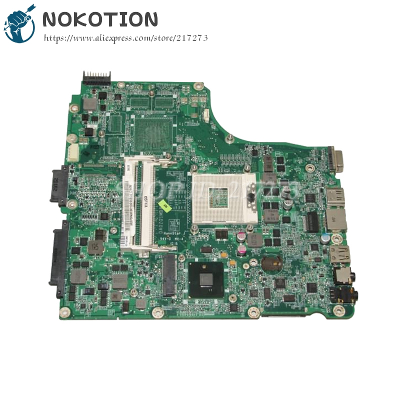 NOKOTION MBPSN06001 MB.PSN06.001 For Acer aspire 4820 4820TG Laptop Motherboard DA0ZQ1MB8D0 HM55 UMA DDR3 mb psm06 001 mbpsm06001 for acer aspire 4745 4745g laptop motherboard hm55 ddr3 ati hd5470 512mb discrete graphics mainboard