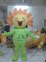 Зеленая мельница мультфильм кукла талисманы цветок маскарадный костюм