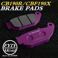 Motorcycle Front Brake Pads Brake caliper brake pad For Honda CB190R CBF190X 16 18, CRF250L CR250R CBR125 MSX 125 D Grom