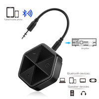 4.1 Receptor Sem Fio Bluetooth receptor Aux de Áudio Estéreo de 3.5 MM Music Receiver Adaptador de Áudio Bluetooth Receptor Aux Carro|receiver bluetooth|receiver audio|receiver bluetooth audio -
