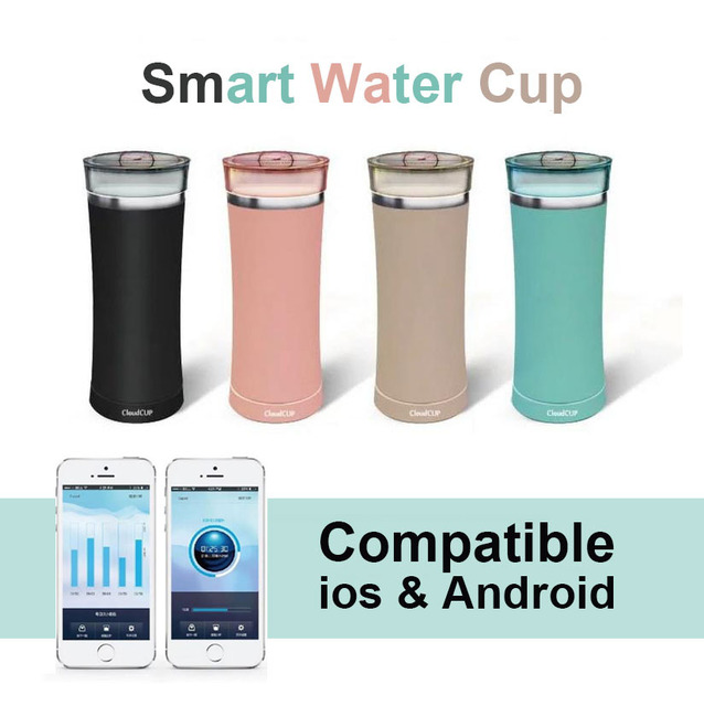 Health Care Bluetooth 40 Smart Drinking Water Bottle Water Cup
