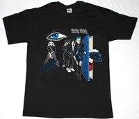 T Shirt Casual Cotton Sleeve Cheap Trick All Shook Up 80 Hard Rock Power Pop The