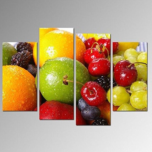 fruits toile promotion-achetez des fruits toile promotionnels sur ... - Peinture Sur Toile Pour Cuisine