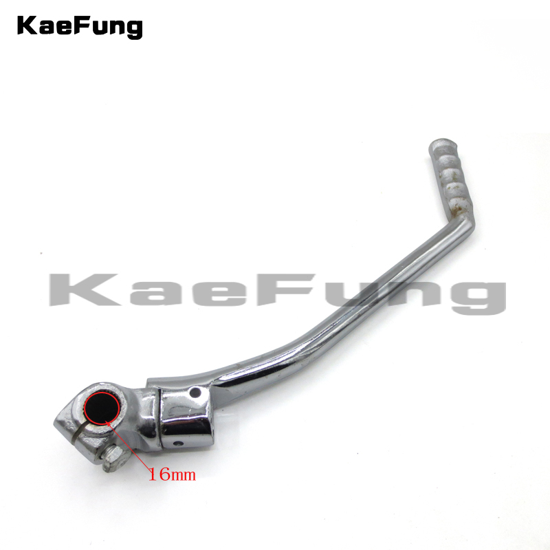 motorcycle dirt pit <font><b>parts</b></font> 16mm Kick Starter Lever Start For <font><b>Lifan</b></font> YX <font><b>Lifan</b></font> YX Pit Dirt Bike CB/CG 200cc <font><b>250cc</b></font> Thumpstar image