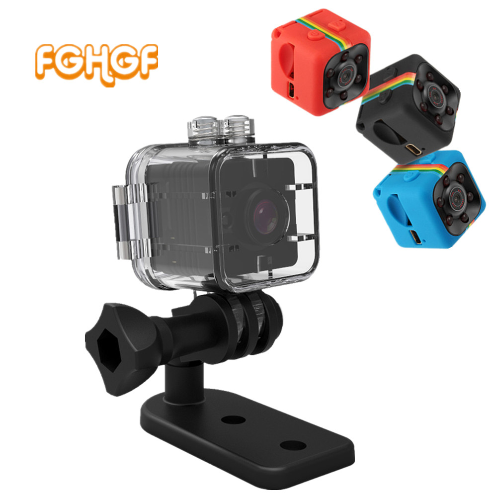 SQ12 SQ11 HD 1080P Mini Camera Night Vision Camcorder Sport Outdoor Car DVR Infrared DV Video voice for Windows PK SQ8 SQ 11