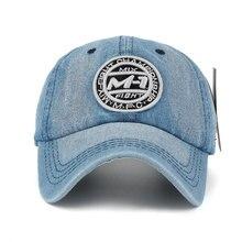 Men's Casual Denim Baseball Cap