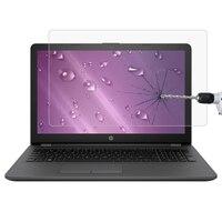 Bilgisayar ve Ofis'ten Tablet Ekran Koruyucuları'de Dizüstü Ekran HD Temperli Cam koruyucu film için HP 255 G6 Dizüstü Bilgisayar (ENERGY STAR) 15.6 inç  boyutu 345x194mm