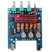 12V 50Wx2 100W TPA3116D2 2 1 HIFI Digital Amplifier Subwoofer Module Blue