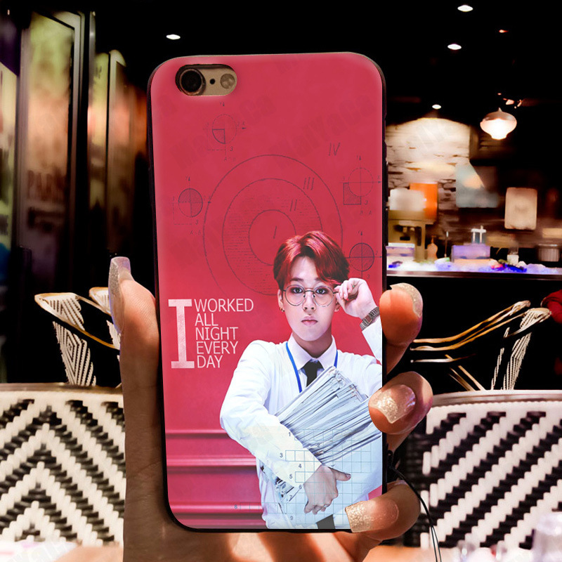 MaiYaCa Bangtan Boys BTS JIMIN SUGA Coque Shell Phone Case for Apple iPhone 8 7 6 6S Plus X 5 5S SE 5C Cover