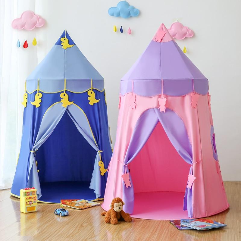Akitoo namiot dla dzieci kryty domek do zabawy dla dziewczynki chłopiec domek zabawkowy księżniczka pokój dla dzieci zamek do domu dla dzieci jurta prezenty w Namioty do zabaw od Zabawki i hobby na  Grupa 1