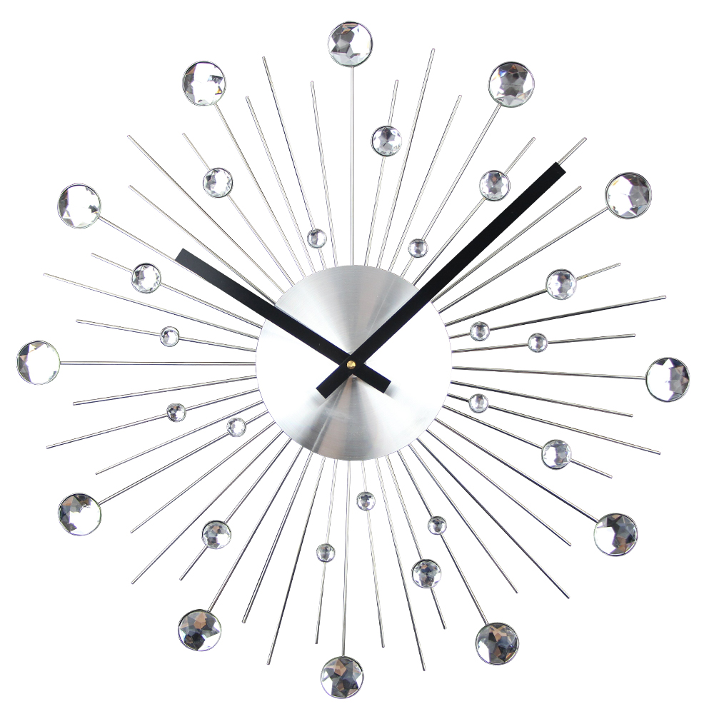 Big Size Metal Wall Clock Modern Home Decor Big Watch ...