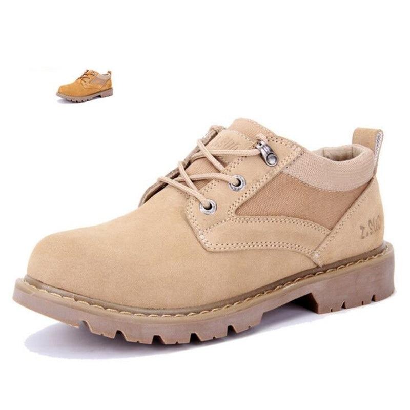 Massa Em Masculina Los Botas Homens Moda Dos Sapatos Respirables laranja De Camurça Bege Zapatos Ferramentas Respiráveis Hombres Novos SqfwnpCUgn