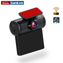 Conkim New Wifi Camera Car DVR GPS Logger 1080P Full HD Dash Cam 2.0 IPS Screen 170 Degree Wide Angle Video Recorder
