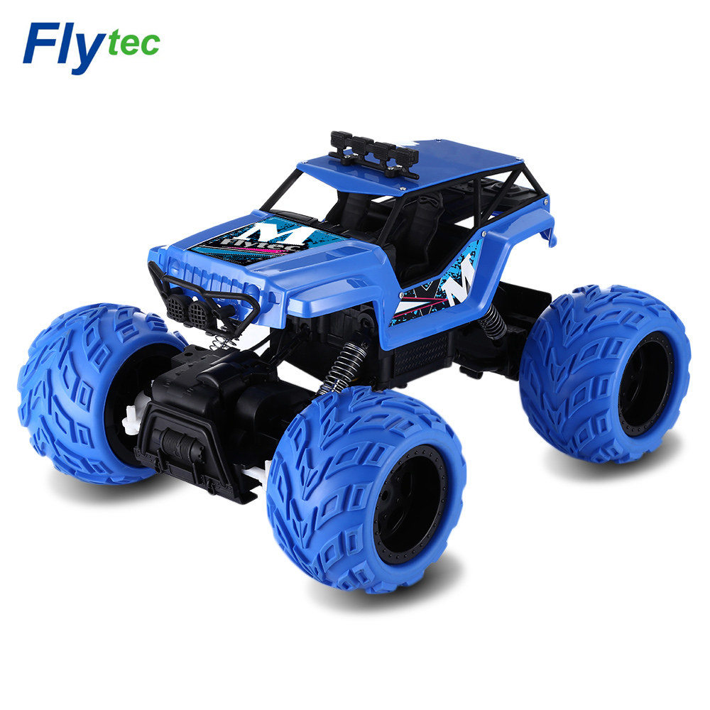 Flytec 1:12 2.4G 4WD RC Cars Truck Brushed High Speed Climbing RC Car Off-road Load Perf ...