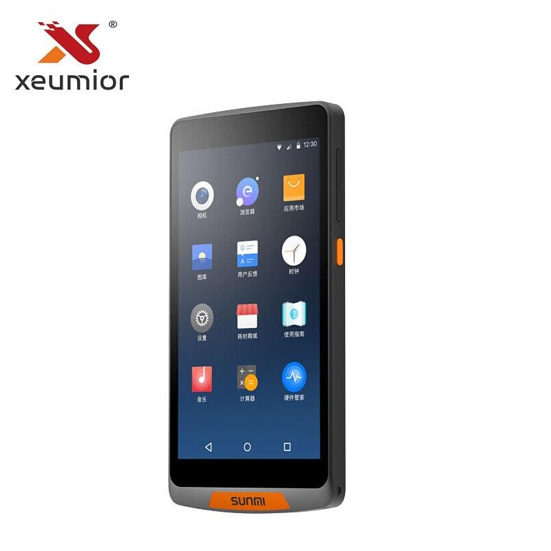 Sunmi M2 Android 7.1 Hand-held Ordem Ordem Restaurante Caixa Registradora Varredura Inteligente Smartphones Wi-fi Móvel POS Terminal