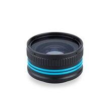M67 67mm Weefine WFL03 makro objektiv Für Sony RX100 MARK 5 Unterwasser Kamera Gehäuse oder andere objektiv mit 67MM