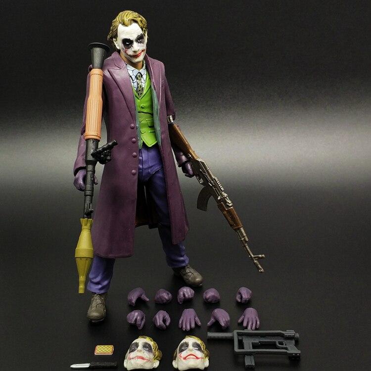 SHF Batman Clown Super Hero Action Doll Model Toy Justice League Suicide Squad DC