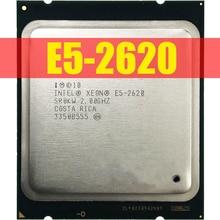 Intel Xeon E5 2620 E5 2620 2.0 GHz שש ליבות עשר חוט מעבד מעבד 15 M 95 W LGA 2011 משלוח חינם