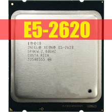 Intel Xeon E5-2620 E5 2620 2.0 GHz 6-Core Dua Belas-Thread Prosesor CPU 15 M 95 W LGA 2011 Gratis Pengiriman(China)